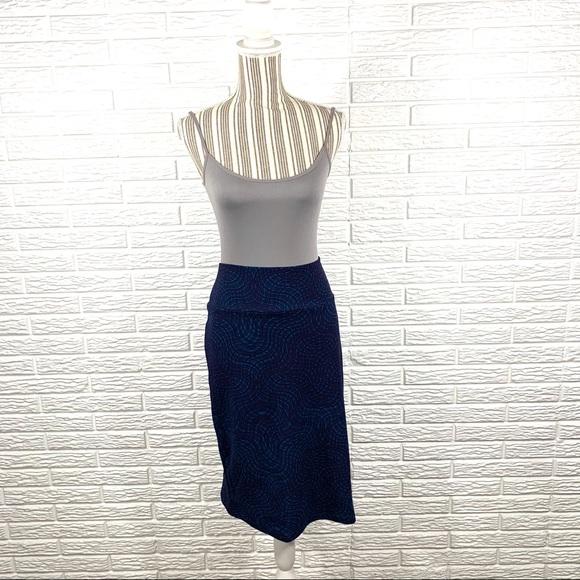 LuLaRoe Dresses & Skirts - LuLaRoe Blue Purple Cassie Midi Skirt